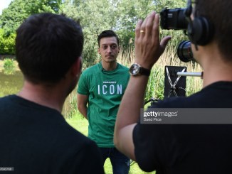 Mesut Ozil names youngster who will replace him at Arsenal