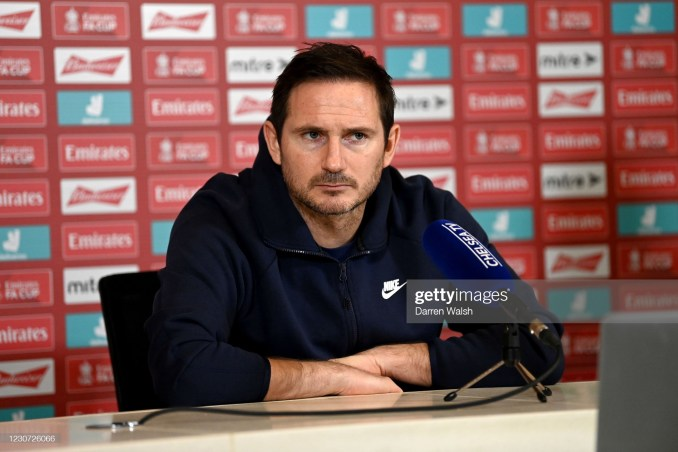 Video Frank Lampard Lambasts Popular Journalist Over Confirmation Slant