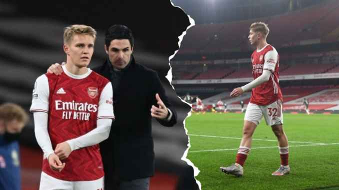 Mikel Arteta Finally Opens Up On Smith Rowes Fate Amid Martin Odegaards arrival