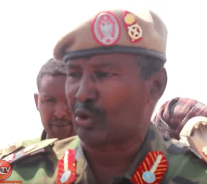Maj-Gen Yassin Omar Dheere
