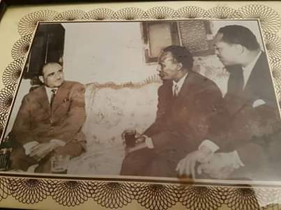 Ahmedkeyse, right, is seen here with the Yemeni Minister for Agriculture, and Hussein Badmah, Deputy Somalia Prime Minister in 1962.
