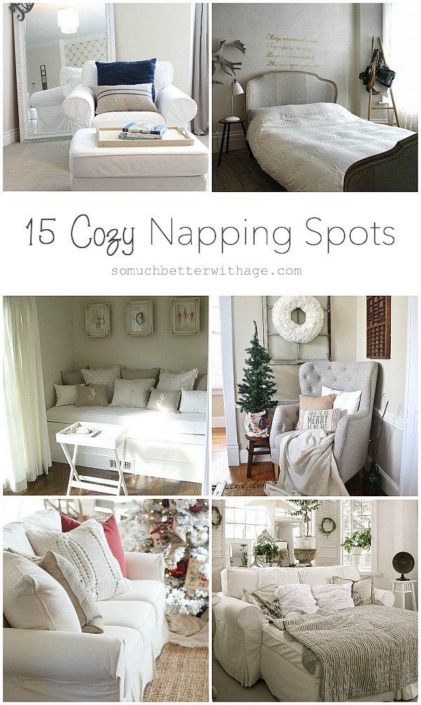 15 Cozy Napping Spots by somuchbetterwithage.com