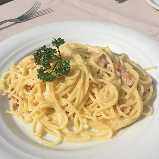 Spaghetti Carbonara is one of my favorite pasta dishes Itshellip
