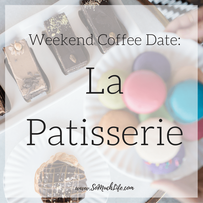 Weekend coffee date at La Patisserie in Austin Texas