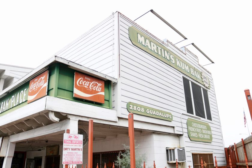 Best burger in Austin: Martin's Kum-bak Place