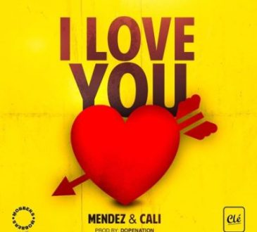 Mendez ft Cali - I Love You