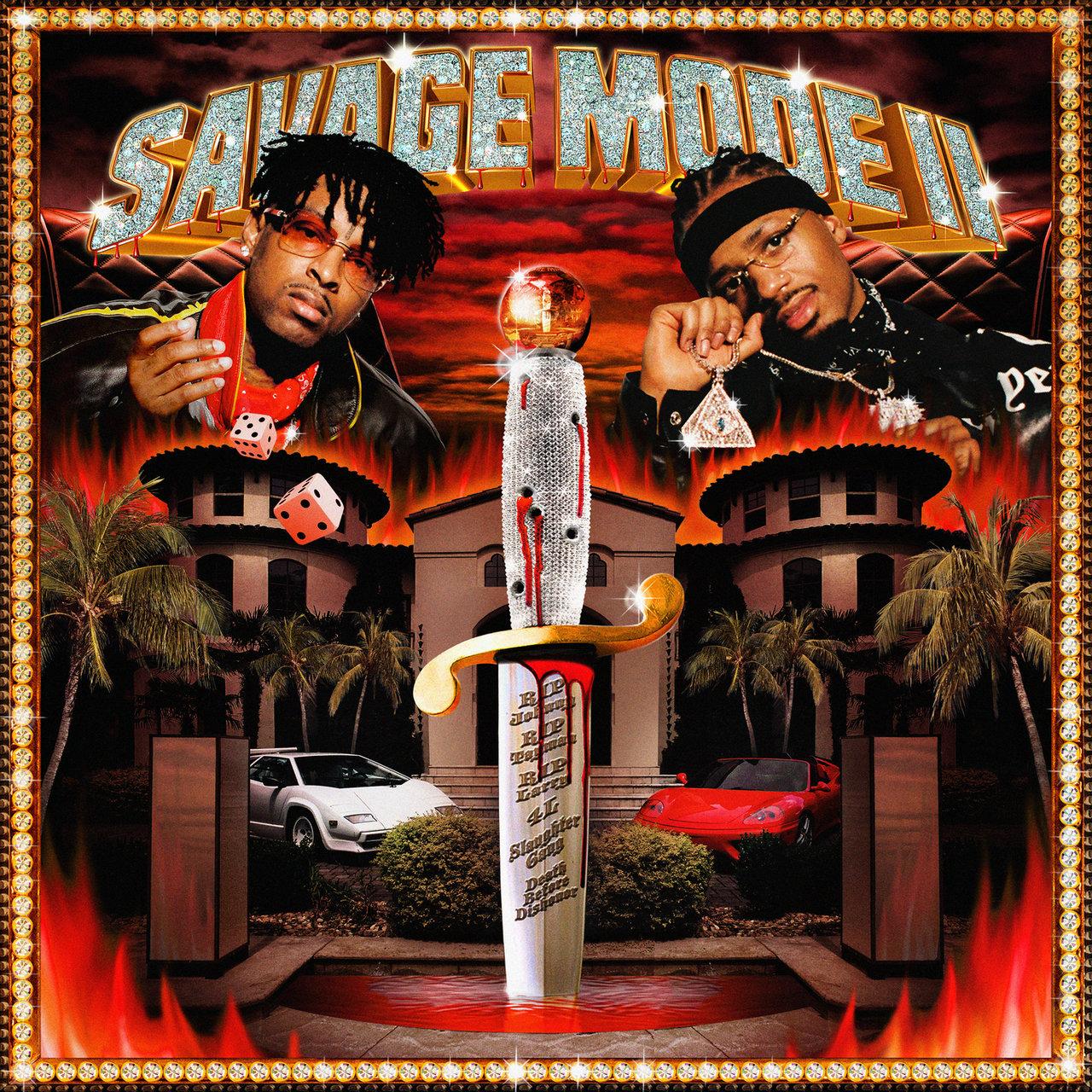 21 Savage and Metro Boomin - Savage Mode II (Cover)