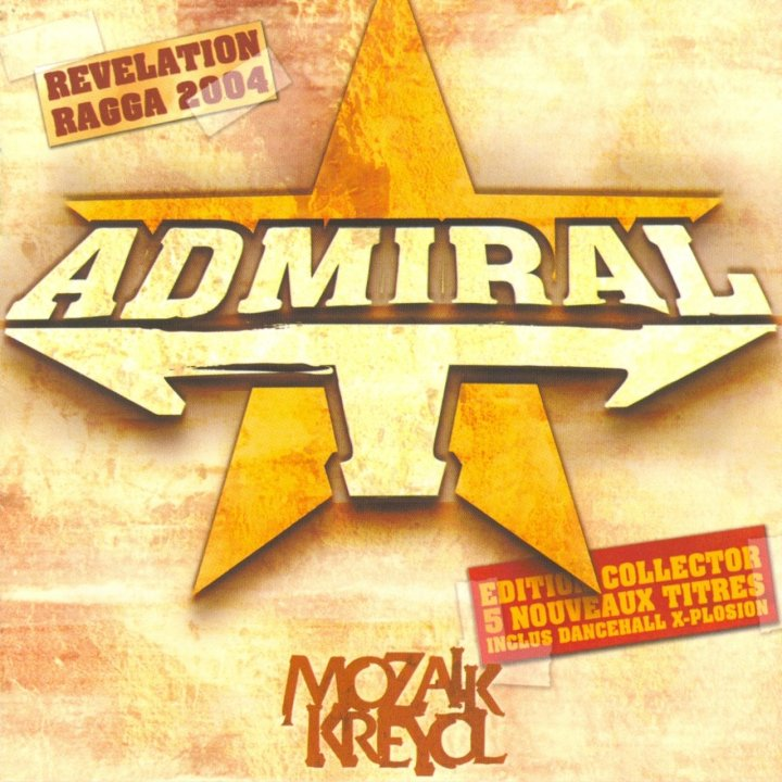 Admiral T - Mozaik Kreyol (Réédition) (Cover)