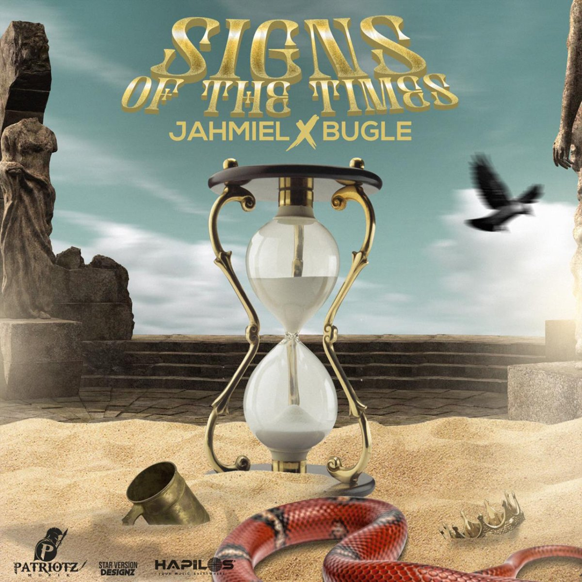 Jahmiel - Signs Of The Times (ft. Bugle) (Cover)