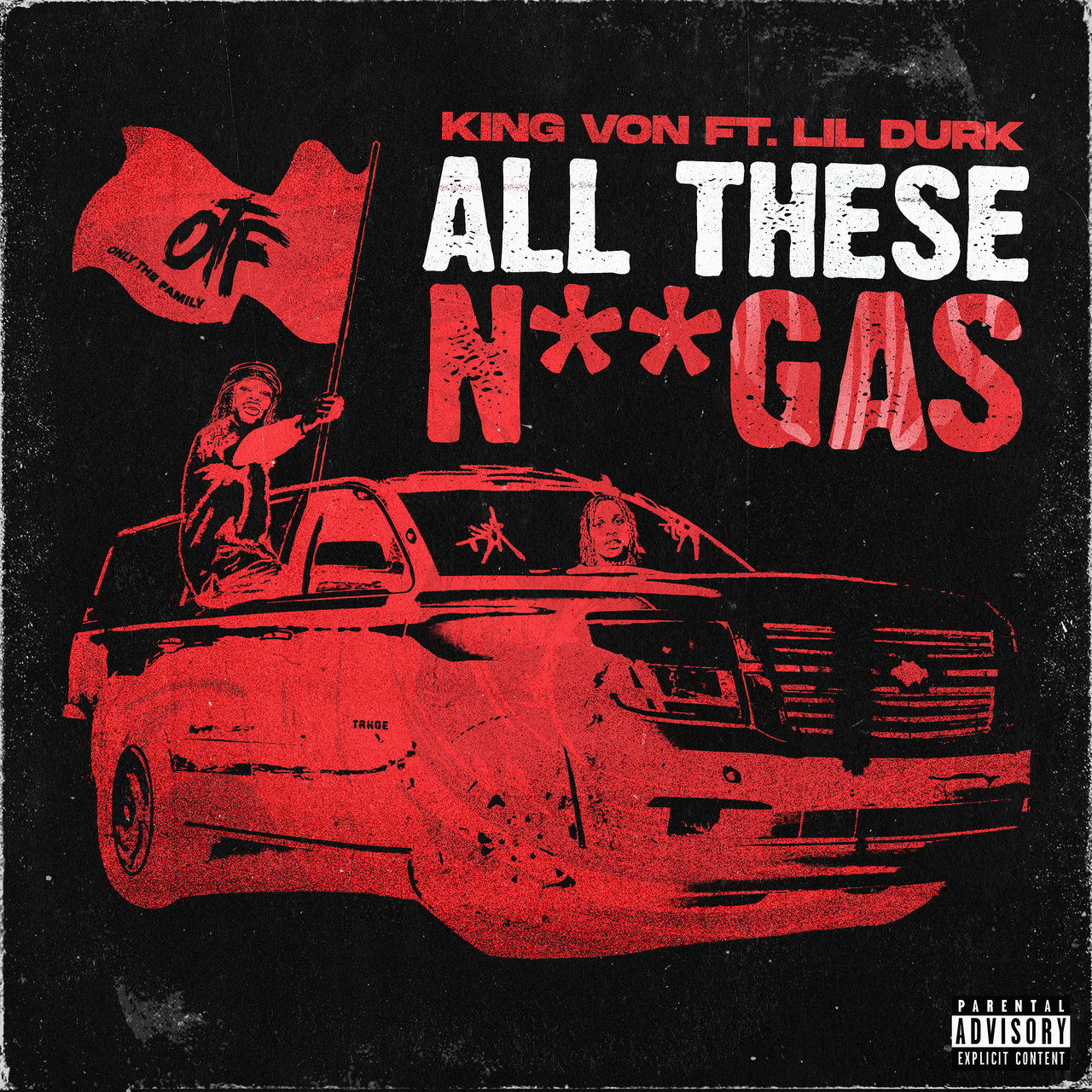 King Von - All These Niggas (ft. Lil Durk) (Cover)