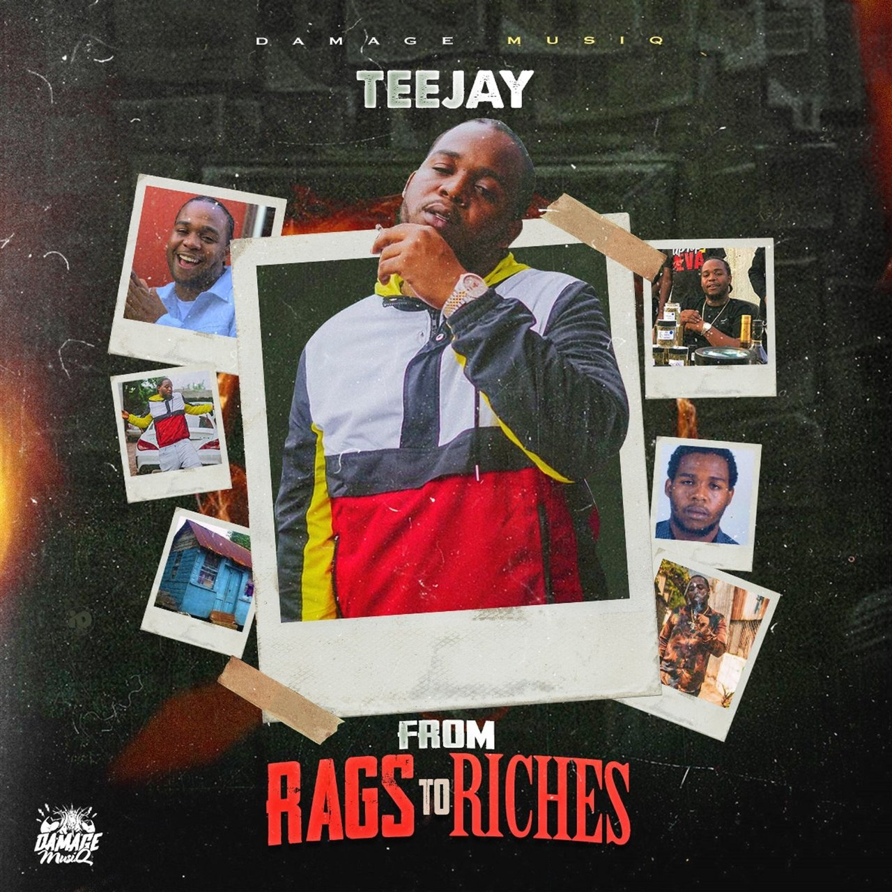 Teejay - From Rags To Riches (Cover)