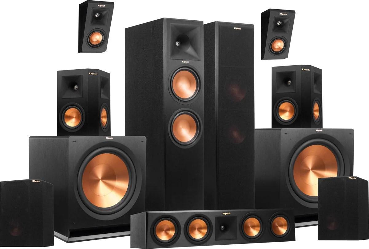 Klipsch Rp 280 Atmos System 7 2 2 Packs