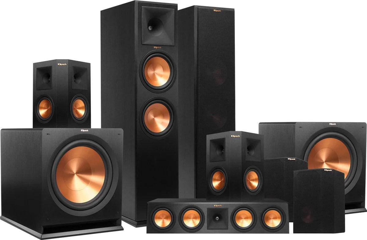 Klipsch Rp 280 System 7 2 Packs D Enceintes