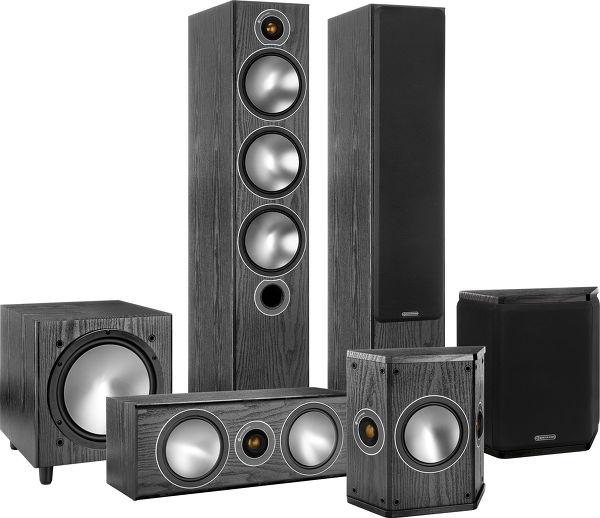 Le pack d'enceintes home-cinéma Monitor Audio Bronze 6 HC 5.1