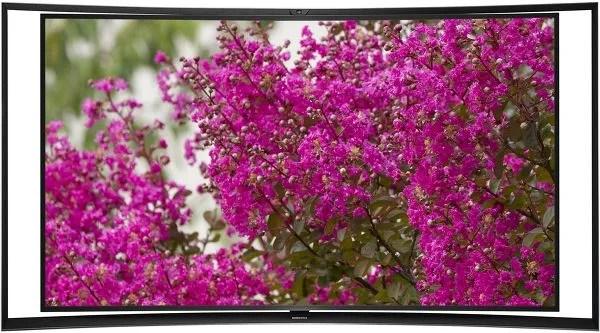 Le KE55S9C est le premier téléviseur OLED incurvé de Samsung