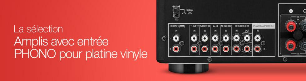 phono pour platine vinyle