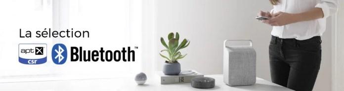 Tous les produits compatibles Bluetooth aptX