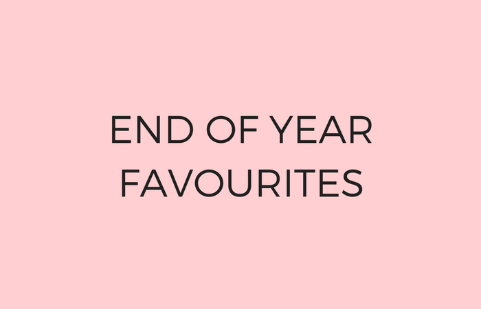 End of Year Favourites 2017