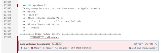 C Static Code Analysis & Security Review Tool  SonarQube