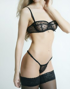 Nour Polka Dot G-String by Sonata London