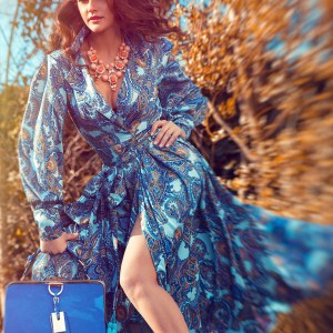 Blue Dress by Sonata London