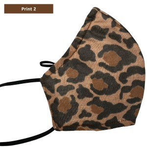 Sonata London Leopard Print Face Mask