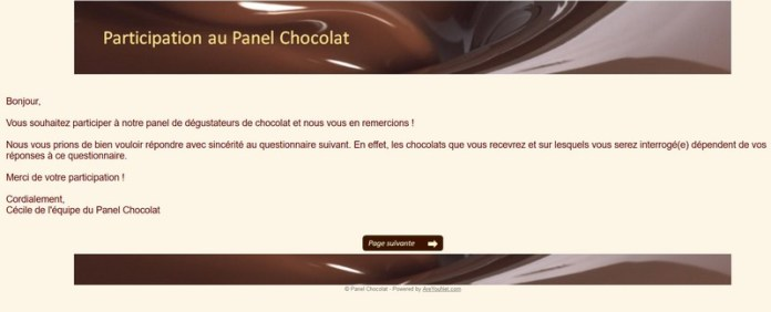 PANEL CHOCOLAT