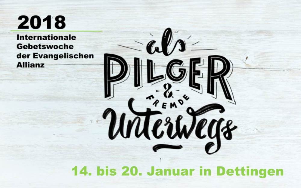 14. – 20.01. | Gebetswoche in Dettingen