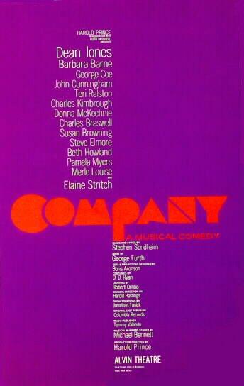 Poster do filme Sondheim's Company