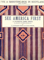 Image result for cole porter see america first