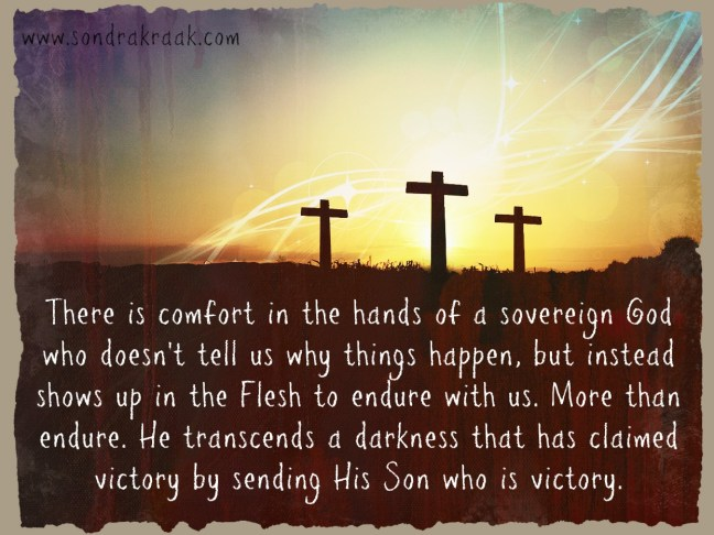 His Son is victory