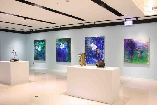 台北油畫展-展間