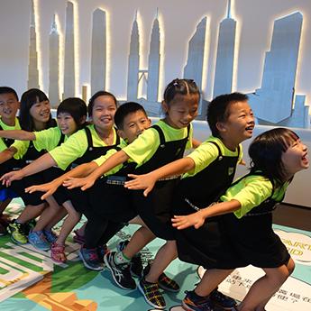 小小博物館員團隊間的和諧也很重要!