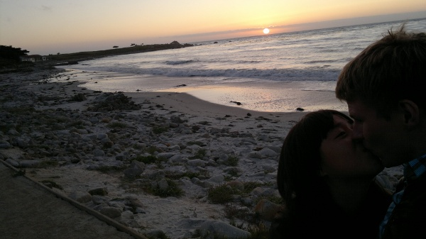 Avslutningsvis en sån där sliskig solnedgångsbild.
