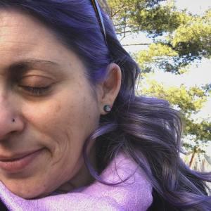 Purple hair done this week     mindfullynowhellip