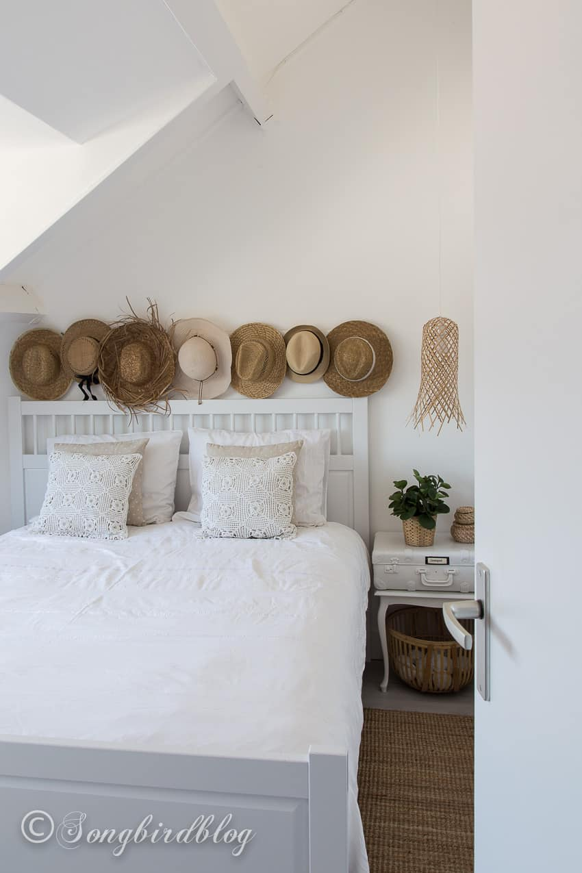 White Boho Bedroom with a Beachy Vibe - Songbird on Boho Bedroom  id=91732