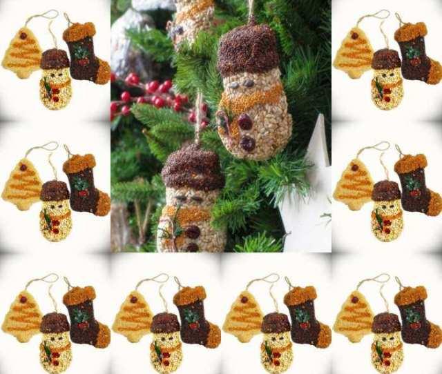Edible Bird Seed Ornaments Seeded Bird Cookie Ornaments Bird Seed Ornaments For Backyard Birds At Songbird Garden