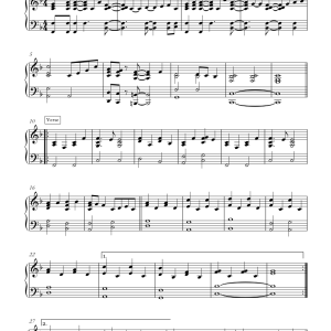 IJT Song 2019 - Leadsheet Piano