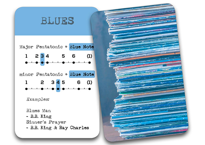 'The Song In My Head' Songwriter Cards: Blues