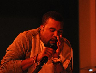 Kayne West back in studio after robbery