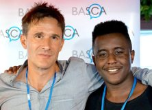 BASCA Chairman Crispin Hunt (left) and Nathan Morgan