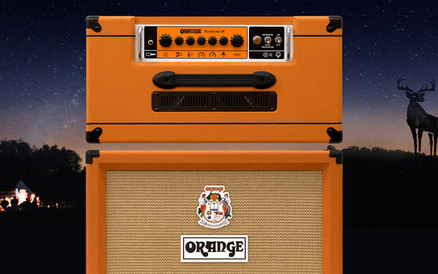 Black Deer Festival and Orange Amps competition