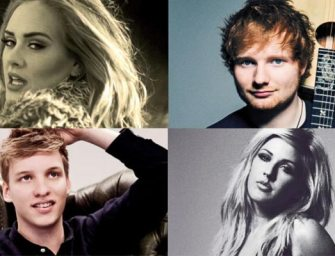 British songwriters lead race for Song Of The Year