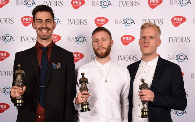 Cass Lowe at the Ivors