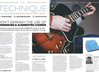 Don't diminish the use of diminished & augmented chords
