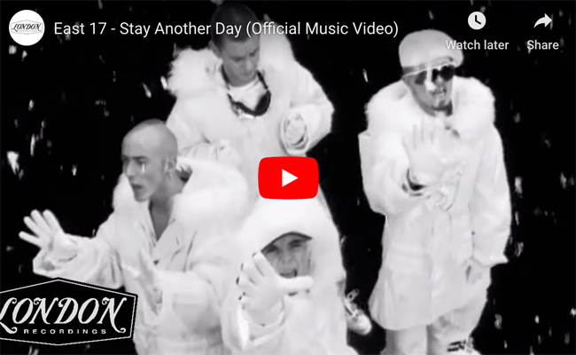 East 17 'Stay Another Day' official video