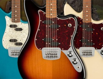 Fender revives its 60s 12-string classic guitar
