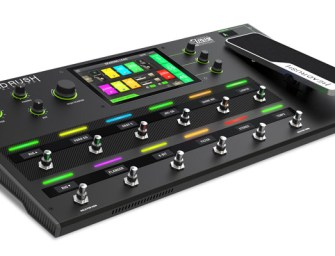 HeadRush reveals high-tech Pedalboard