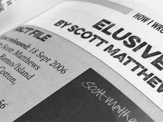How I wrote 'Elusive' by Scott Matthews