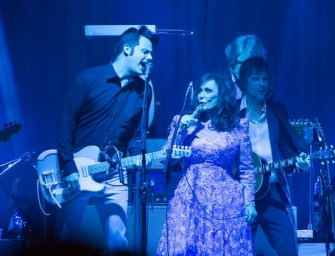Jack White and Loretta Lynn join the Nashville Music City Walk Of Fame